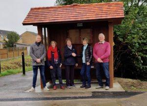 New Bus Shelter at Stagholt